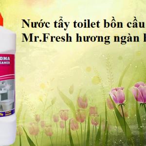 Nước tẩy bồn cầu toilet Mr.Fresh hương ngàn hoa 1L