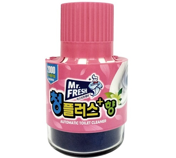 Cốc thả bồn cầu Mr.Fresh hương hoa ly 180g Hàn Quốc