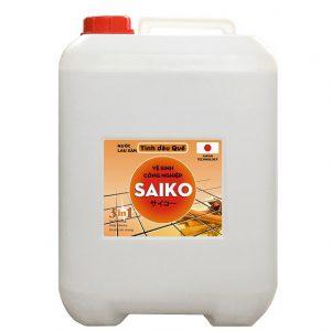 Nước lau sàn Saiko 20L tinh dầu quế siêu sạch. Giá bán sỉ lẻ, hướng dẫn sử dụng, công dụng và lưu ý khi sử dụng nước lau sàn Saiko tinh dầu quế 20 lít