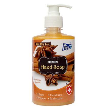 Nước rửa tay Mr.Fresh hương quế 500ml & công dụng, giá sỉ