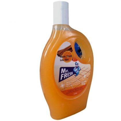 Nước thơm lau sàn Mr.Fresh hương cam quế 1,1L giá sỉ