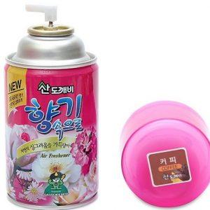 Bình xịt khử mùi Sandokkaebi hương cafe cao cấp Hàn Quốc 300ml