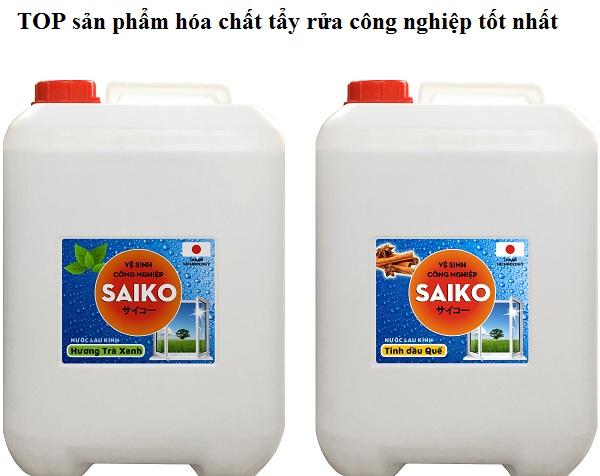 Sỉ lẻ hóa chất tẩy rửa côn nghiệp thiên nhiên tốt nhất từ Nhật Bản. Nước lau rửa kính công nghiệp saiko