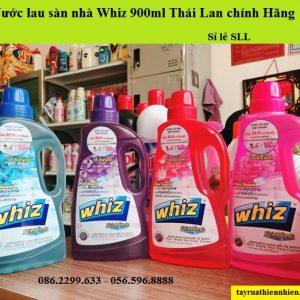 Nước lau sàn nhà Whiz 900ml Thái Lan chính hãng, giá sỉ lẻ, công dụng & hướng dẫn sử dụng