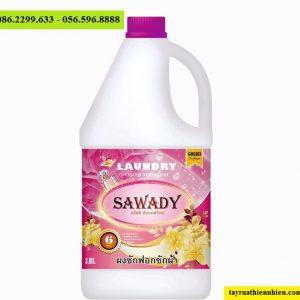 Nước giặt xả Sawady 6 trong 1 Golden Perfume 3,8L sỉ lẻ, hướng dẫn sử dụng, công dụng