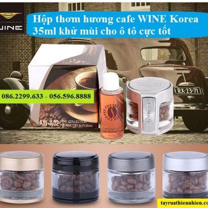 Hộp thơm hương cafe WINE Korea 35ml chính hãng