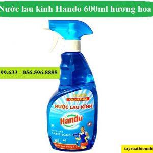 Nước lau rửa kính Hando 600ml thơm ngát hương hoa