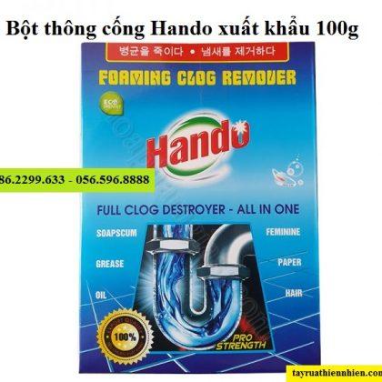 Bột thông cống Hando 100g nội địa & xuất khẩu cực mạnh