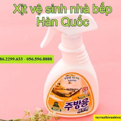 Chai xịt vệ sinh nhà bếp Sandokkaebi 300ml siêu sạch
