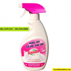 Nước tẩy vết bẩn cổ áo, tay áo Hando 500ml