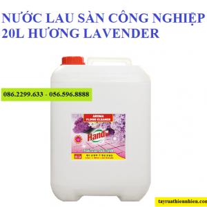 Nước lau sàn công nghiệp Hando 20 lít hương lavender