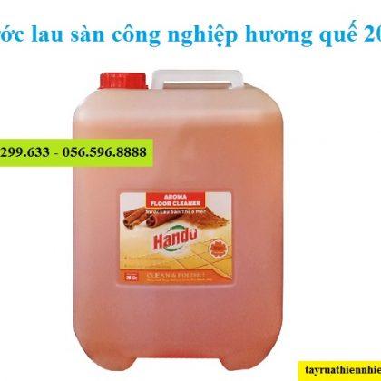 Nước lau sàn công nghiệp Hando 20 lít hương quế