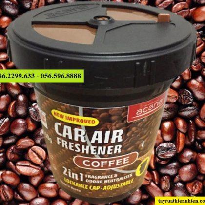 Sáp thơm ô tô thiên nhiên Acana 130g hương cà phê