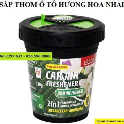 Sáp thơm ô tô hương hoa nhài Acana 130g nhập khẩu Hàn Quốc