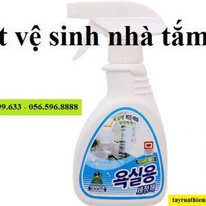 Chai xịt khử khuẩn, tẩy vệ sinh nhà tắm Sandokkaebi 300ml
