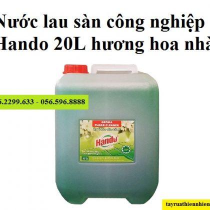 Nước lau sàn công nghiệp Hando 20 lít hương hoa nhài