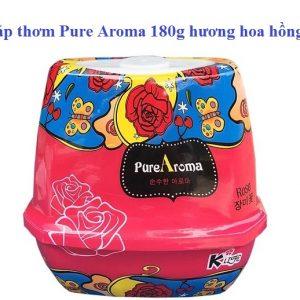 Sáp thơm Pura Aroma Rose hương hoa hồng 180g